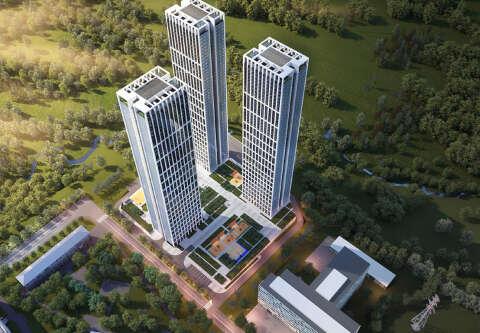 ЖК «Небо» — небоскребы на Мичуринском! От 200 000 рублей за м²!